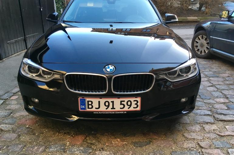 Billig billeje af BMW 320D, 2.0, 184HK med Isofix beslag nær 1853 Frederiksberg.