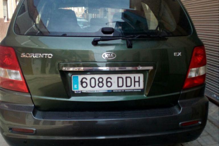 Alquiler barato de Kia Sorento 2.2 Crdi Drive 4x4 con equipamiento Elevalunas eléctricos  cerca de 46520 Port de Sagunt.