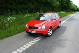 VW Polo 1,4, rød, automatgear og træk