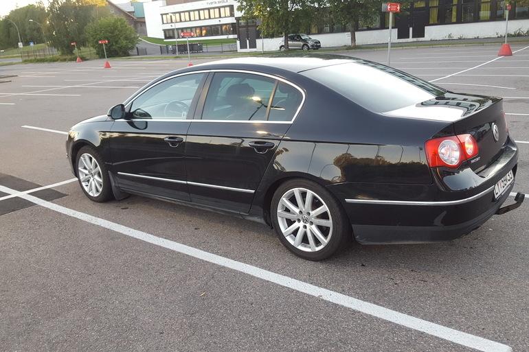 Billig leie av VW Passat 1.9 tdi HIGHLINE 2006 modell. med Barnesete nærheten av 0673 Oslo.