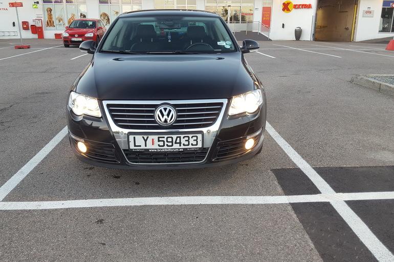Billig leie av VW Passat 1.9 tdi HIGHLINE 2006 modell. med Cruise-control nærheten av 0673 Oslo.